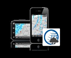 Regenradar App für iPhone, iPod, iPad und Android-Geräte